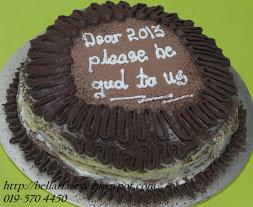 Tiramisu Millie Crepe Cake