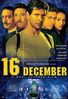Poster Of Bollywood Movie 16 December (2002) 300MB Compressed Small Size Pc Movie Free Download worldfree4u.com