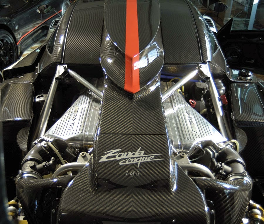 Pagani Zonda Cinque Engine