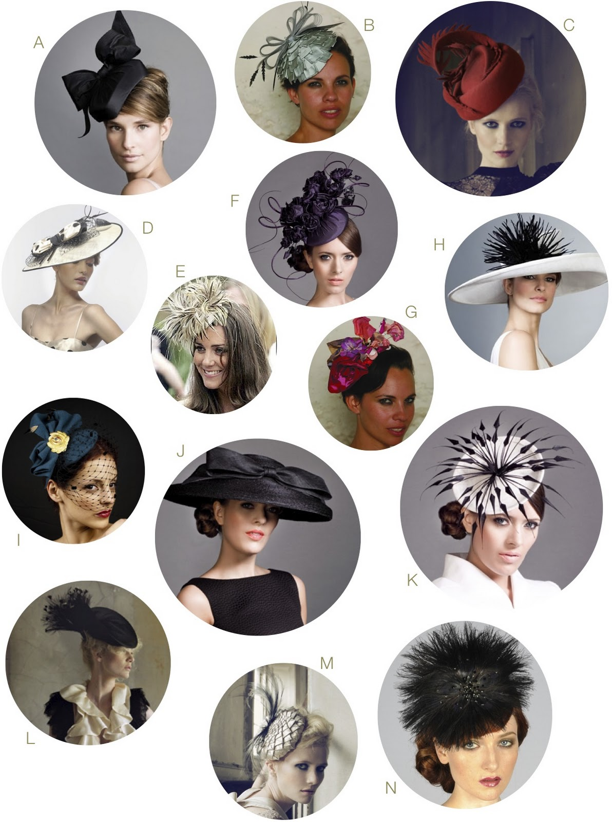 The University of Solar System Studies - Page 29 British+Wedding+Hats+Royal+Wedding+England+Women