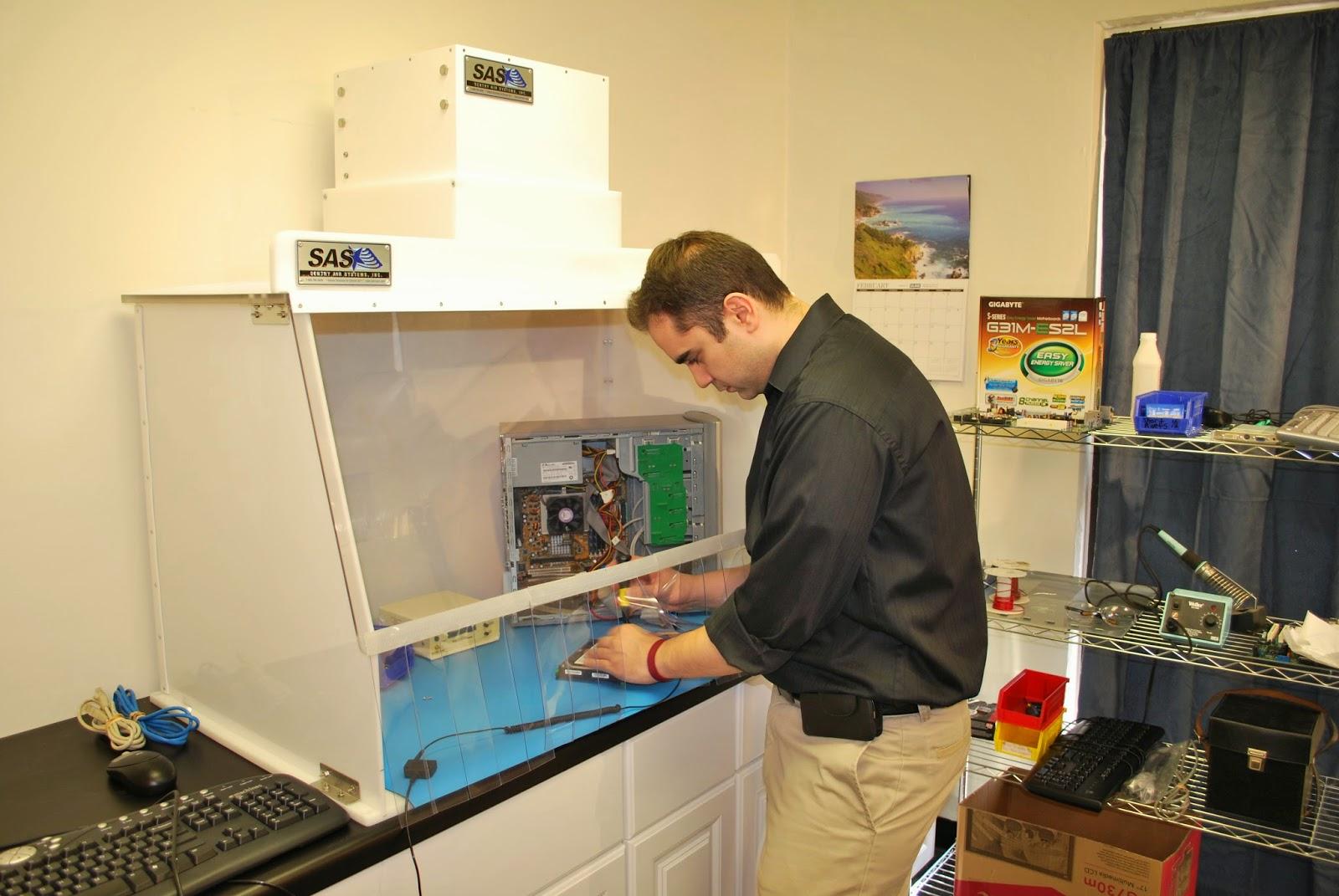 Sentry Air Systems: Campana portátil de cuarto limpio para ...
