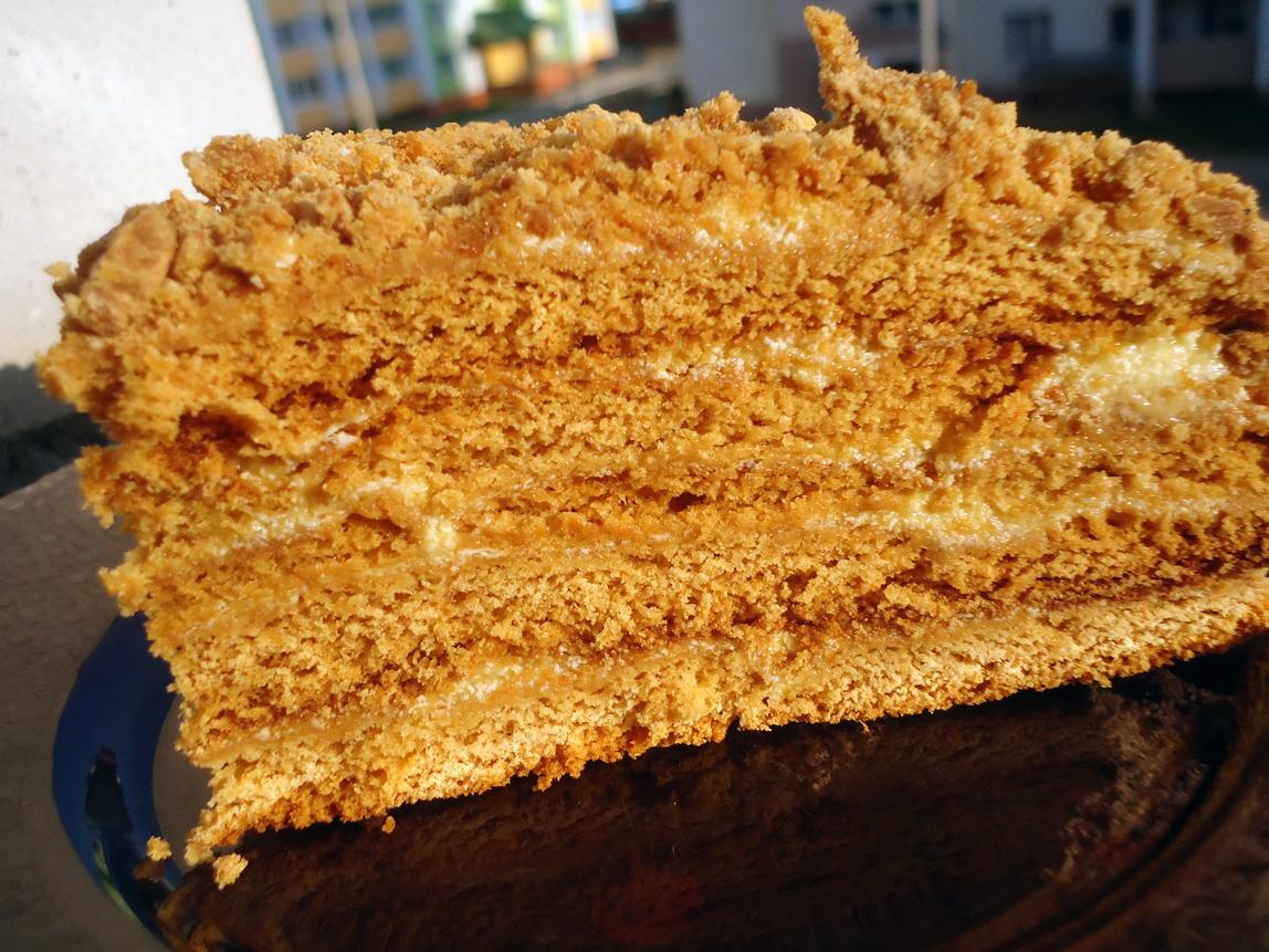 торт медуница рецепт с