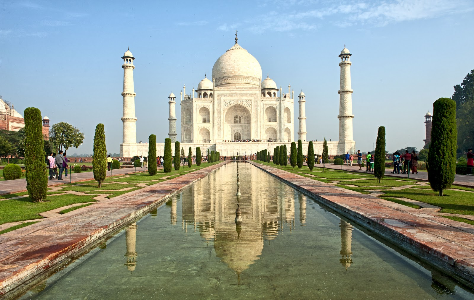 Tourism And Travel Places In India Beautiful Taj Mahal