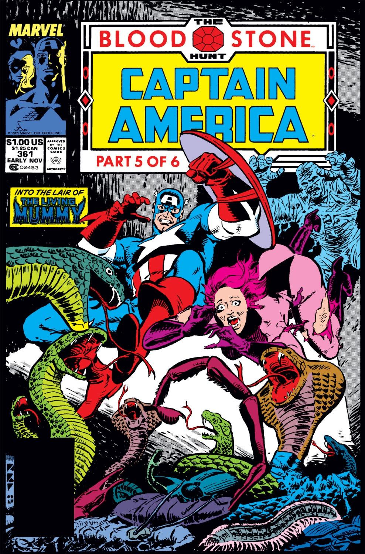 Captain America (1968) Issue #361 #294 - English 1