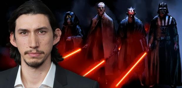 Adam Driver villano de Star Wars Ep. VII