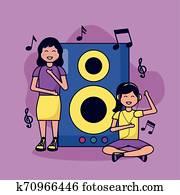 Muro de canciones, juegos y desafíos musicales. Segundo ciclo