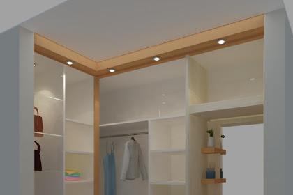 Jasa Desain Interior Wardrobe lemari pakaian