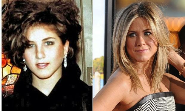 Famosos antes e depois da fama Home Fotos