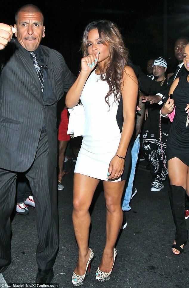 fotos de lil wayne y christina milian saliendo club playhouse rumor pareja novios
