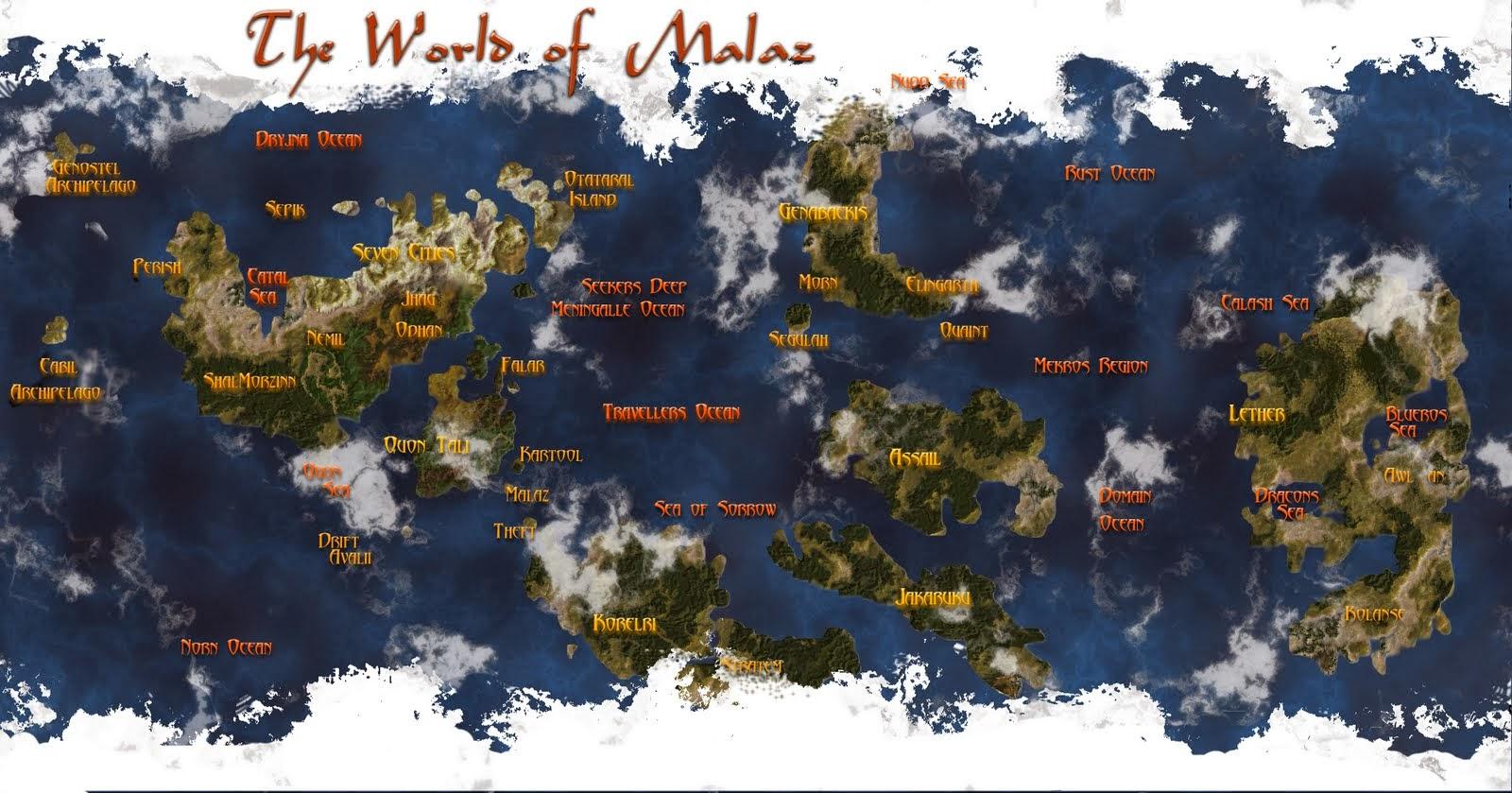Post Oficial -- Malaz --  El Libro de los Caidos + El Imperio --  Map_malazan_mapa