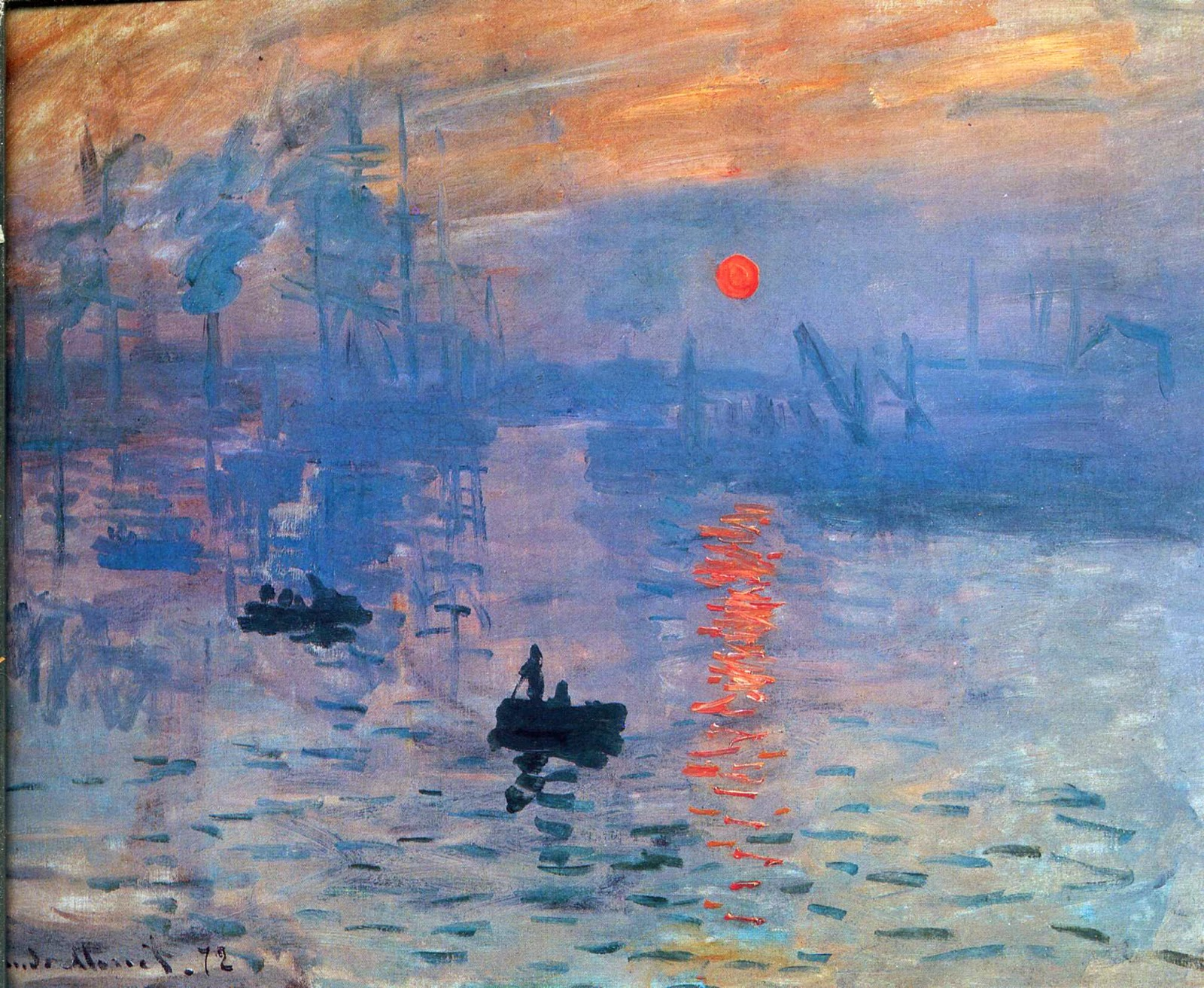 "Picture of ""Impression, Sunrise"" by Claude Monet, 1873"
