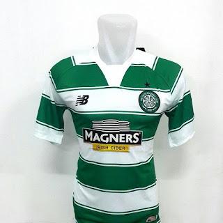 gambar detail kamera photo instagram enkosa sport Jersey Celtic home New Balance Official terbaru musim 2015/2016 toko online terpercaya menjual baju bola harga murah