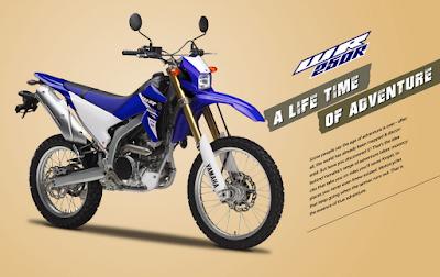 WR 250R . . motor trail Yamaha berstatus CBU ini resmi hadir di Indonesia !