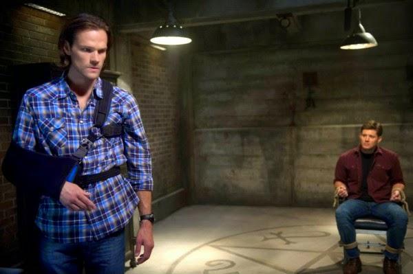 Supernatural. S10E04. Sam y Dean Exorcización.