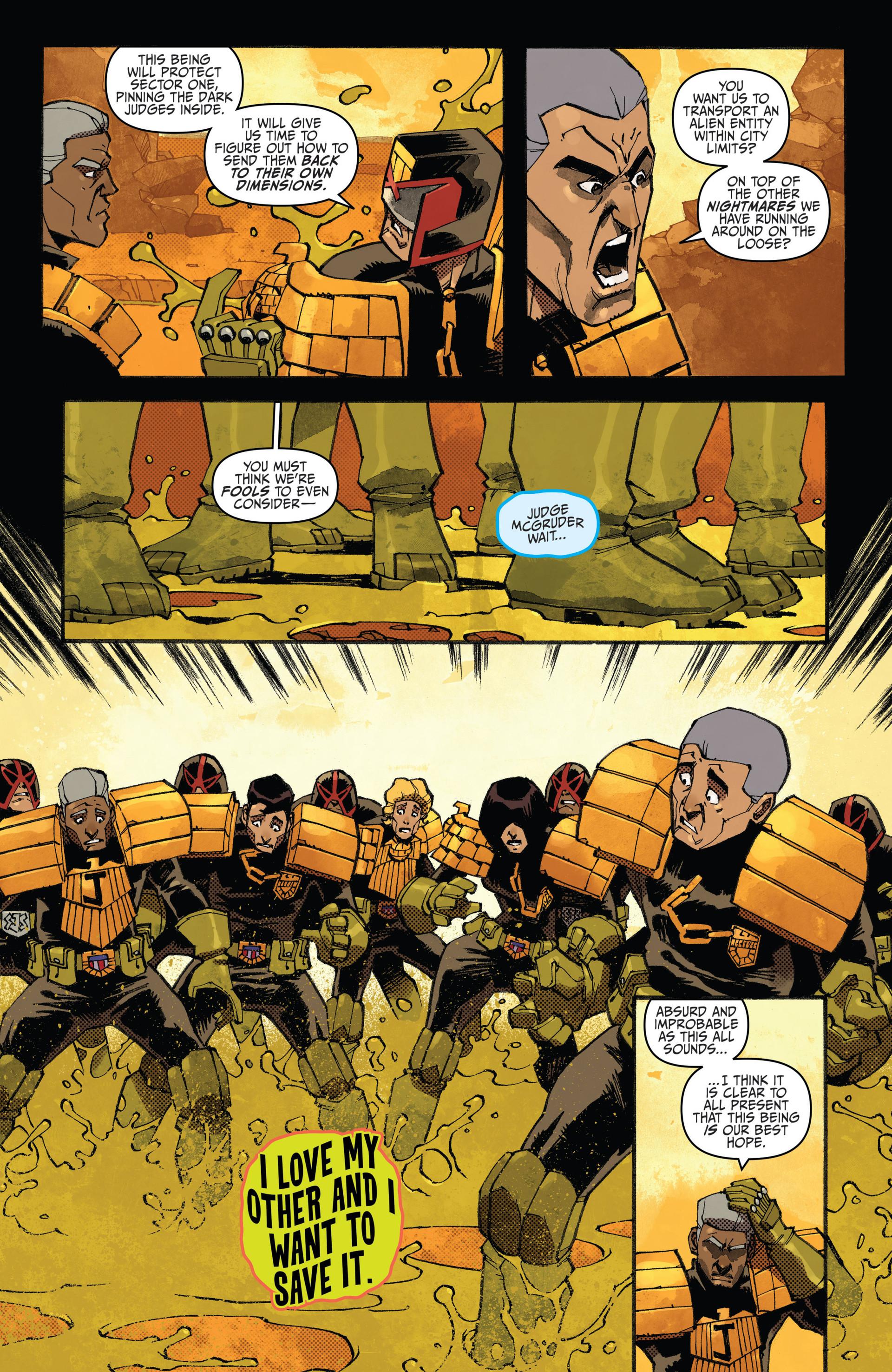 Read online Judge Dredd (2012) comic -  Issue #20 - 10