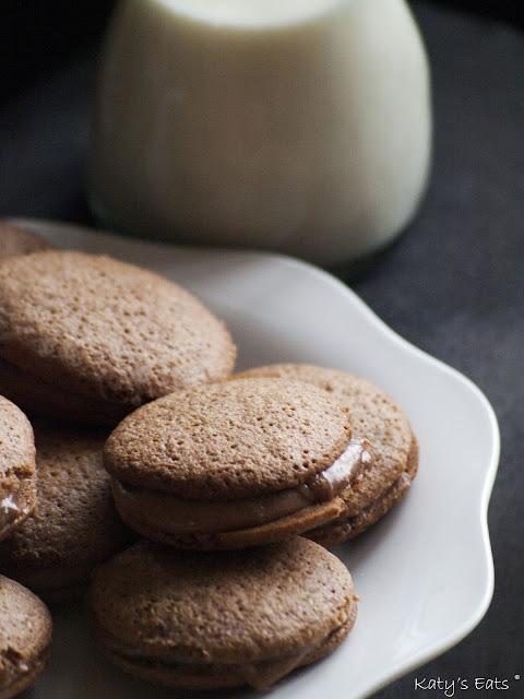 whoopies au chocolat recette,