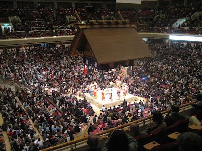 Ryogoku Kokugikan sumo arena, Tokyo