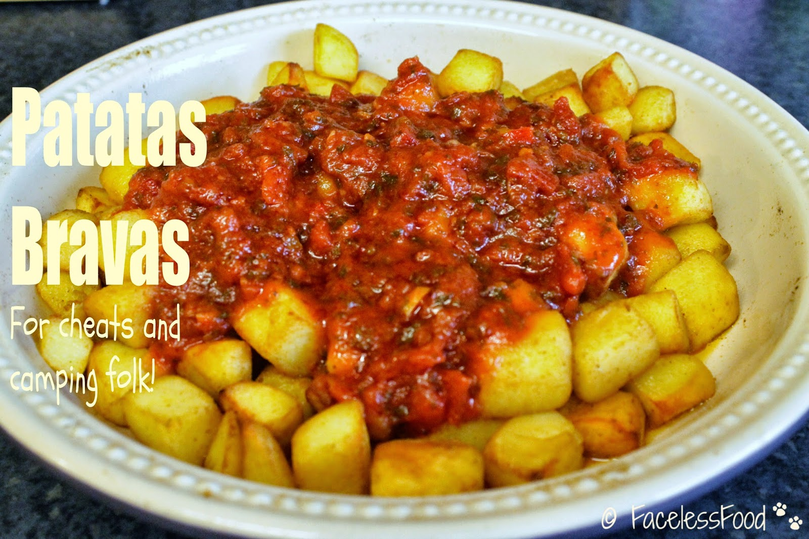 Cheat's Patatas Bravas
