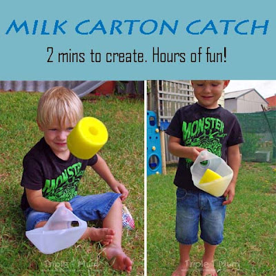 Milk Carton Catcher