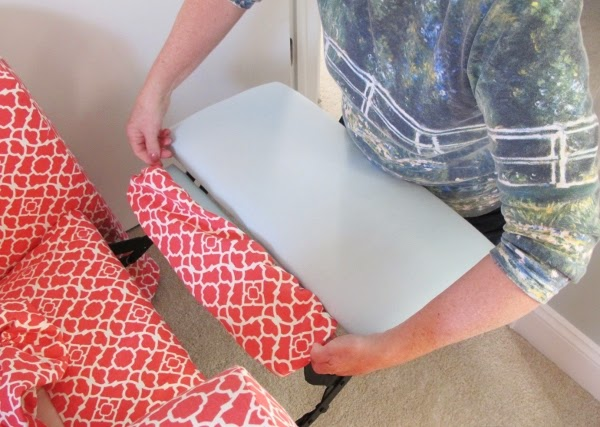 Make a separate cover for the foot rest & BonnieProjects: Tips u0026 Tricks for Slipcovering a Recliner islam-shia.org