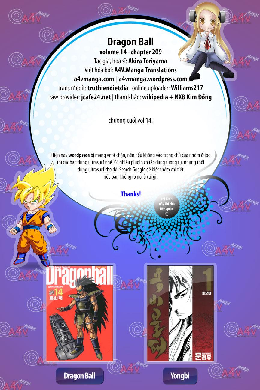 xem truyen moi - Dragon Ball - 7 Viên Ngọc Rồng - Chapter 209