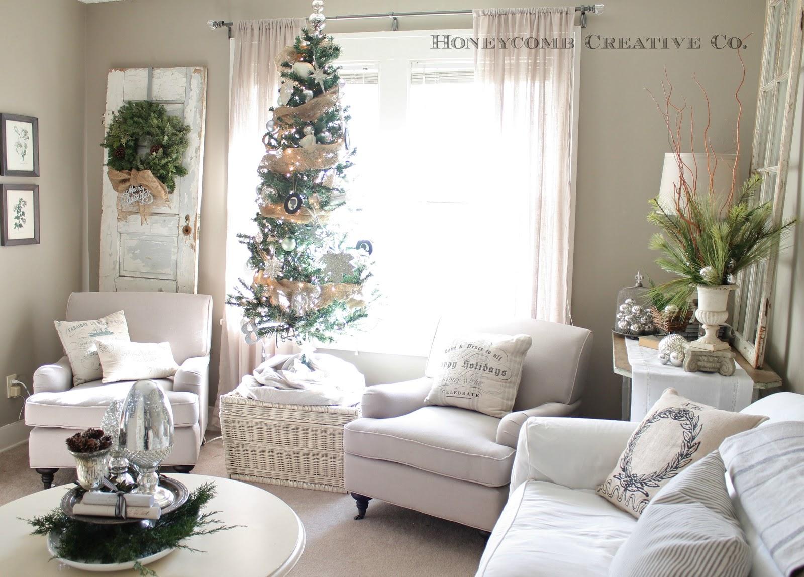 Xmas Living Room Decor Image 3 Christmas Home Tour Red White Decorating Ideas