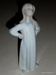 Lladro Figurine Girl Stretches #4872