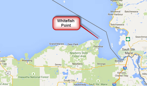 Travels without charley enjoying steinbeck 39 s america 6 for White fish point