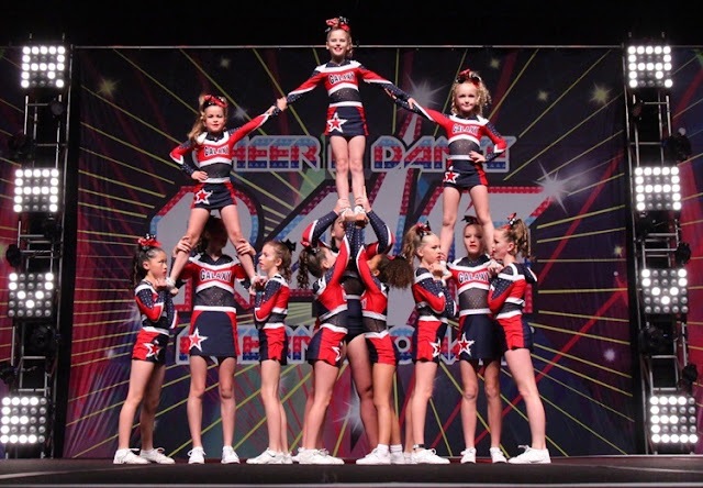 Cheer Pyramid - every person plays an important part