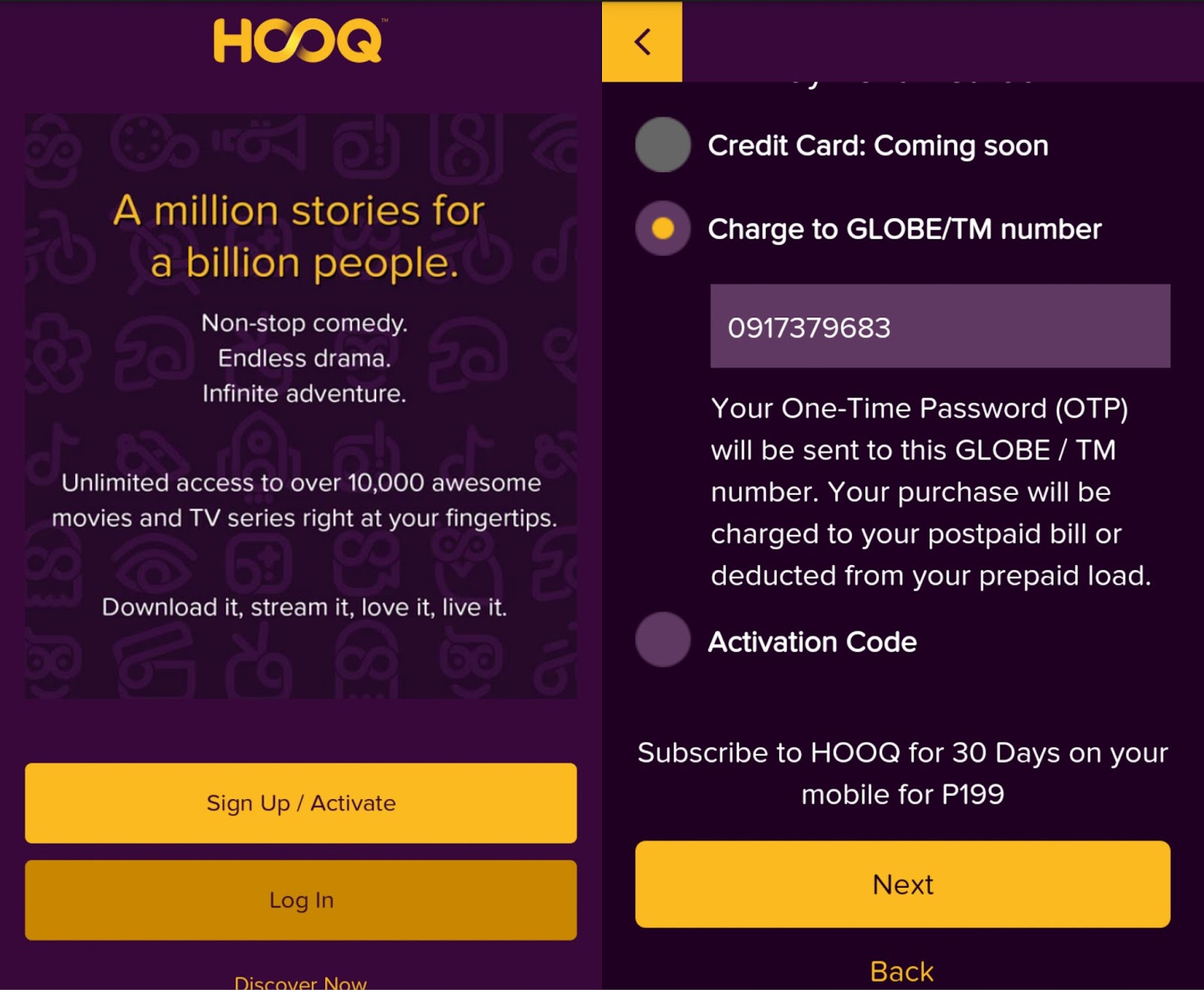 The lifestyle hub movies and tv series streaming with globe on hooq globe hooq tv series and movie streaming stopboris Images