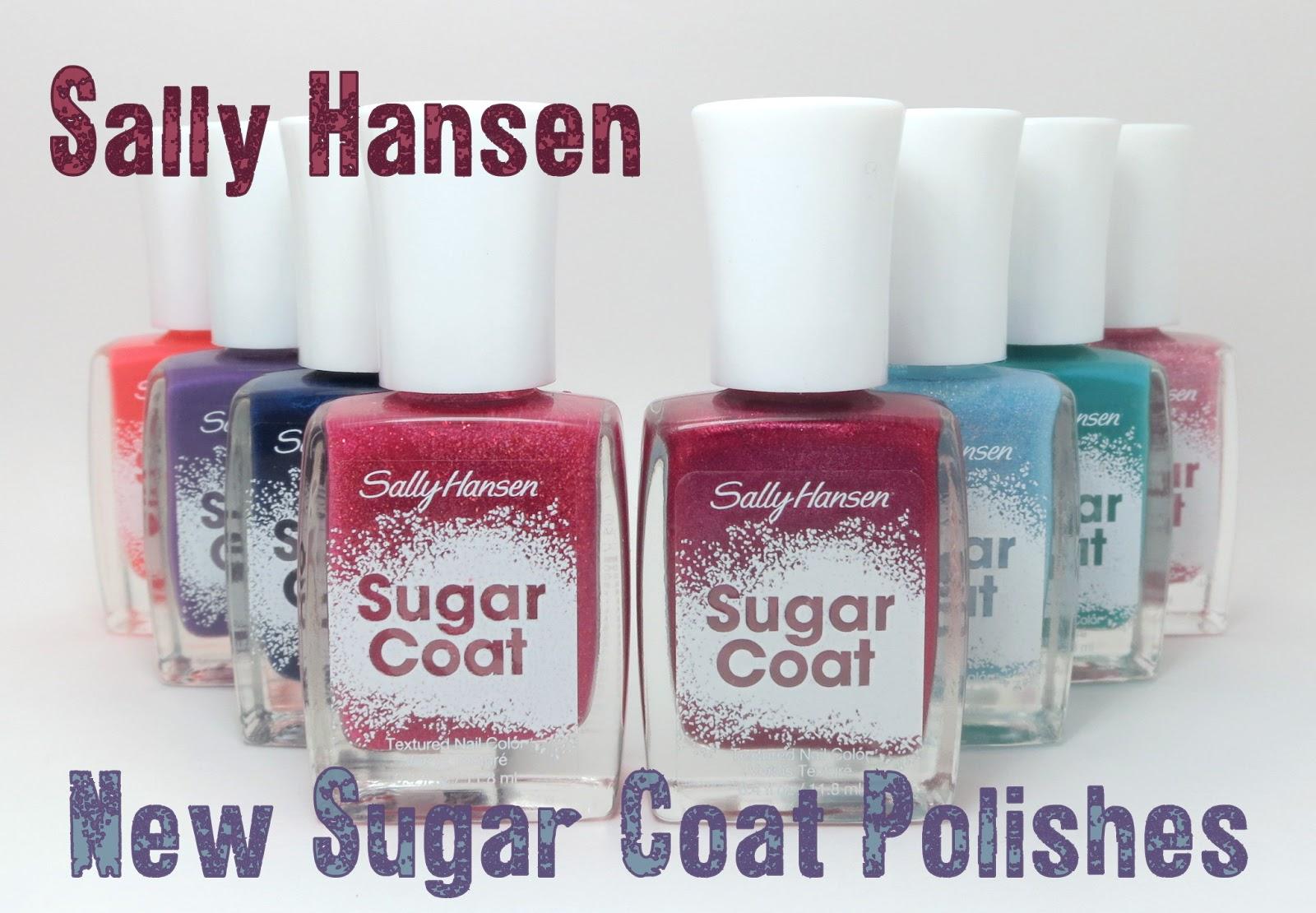 Oh Three Oh Four: New Sally Hansen Sugar Coat Swatches
