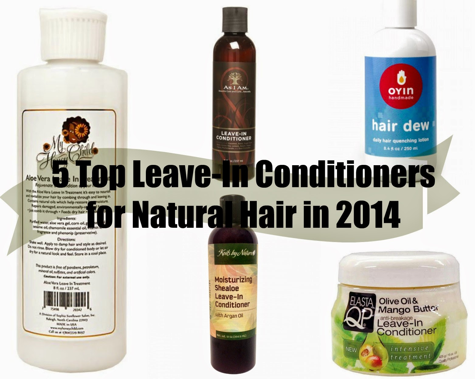 My Favorite and most used LeaveIn Conditioners for