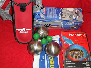 BOULE JB3XXX +BEG=3JACK MADE FRANCE+DVD MASTER PETANQUE+ARM SLEEVE MYR750