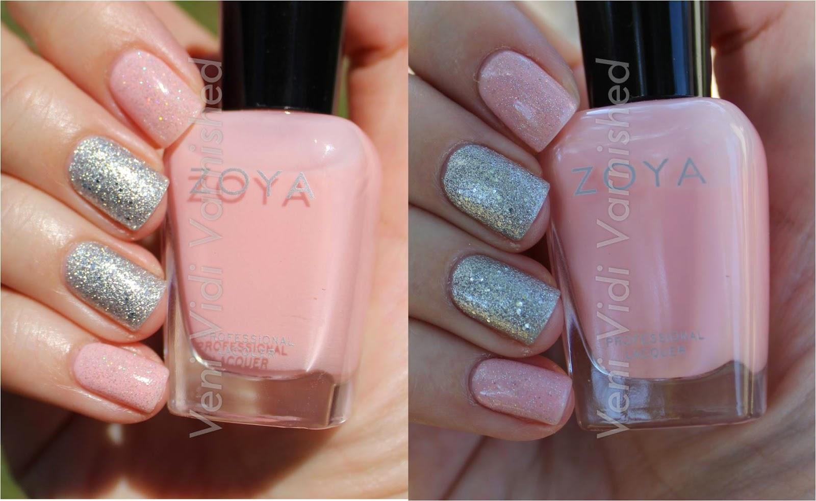 Zoya Dot Orly FX Silver Pixel China Glaze Fairy Dust Nail Polish NOTD