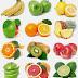 Imagens de frutas e legumes em alta resolução