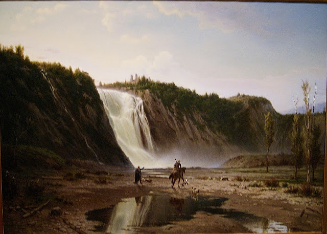 from Picturing the Americas Exhibit at Art Gallery of Ontario (AGO) in Toronto, ontario, canada, culture, exhibition, art, artmatters, painting, south, north, central, country, The Purple Scarf, montmorency falls, guido carmignani