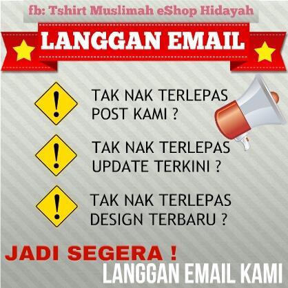 Kenapa perlu langgan email kami?
