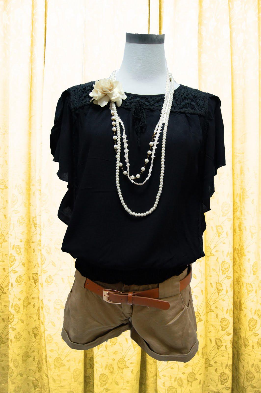Aeiloveu Elegant Evening Blouse Top