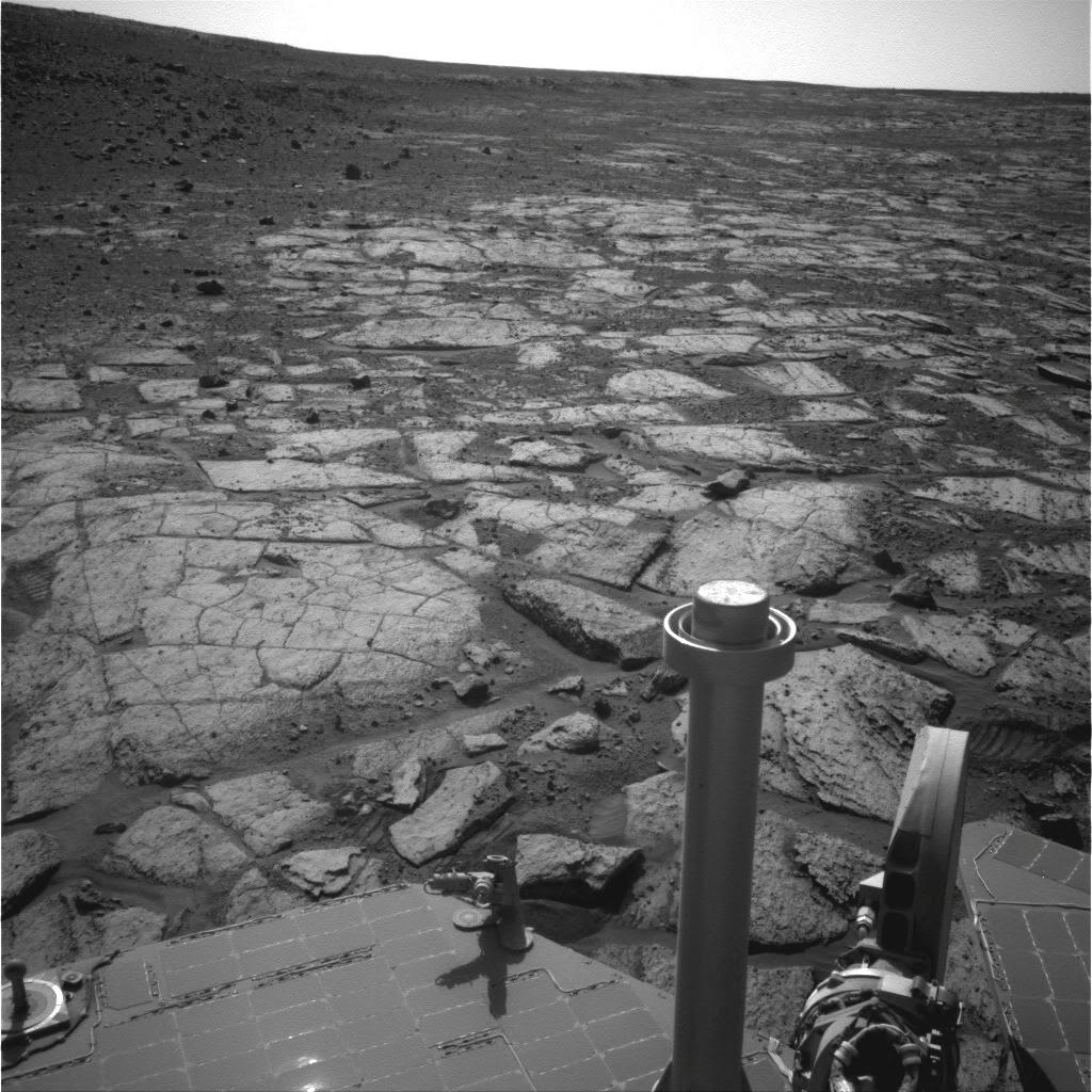 Северная оконечность  «Solander Point» в кратере Индевор