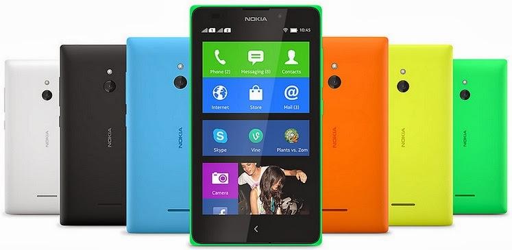 Gambar Nokia XL Android smartphone layar 5 inch