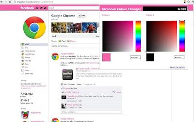 Google+chrome+extension+facebook+colour
