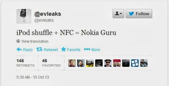 Nokia Guru With NFC