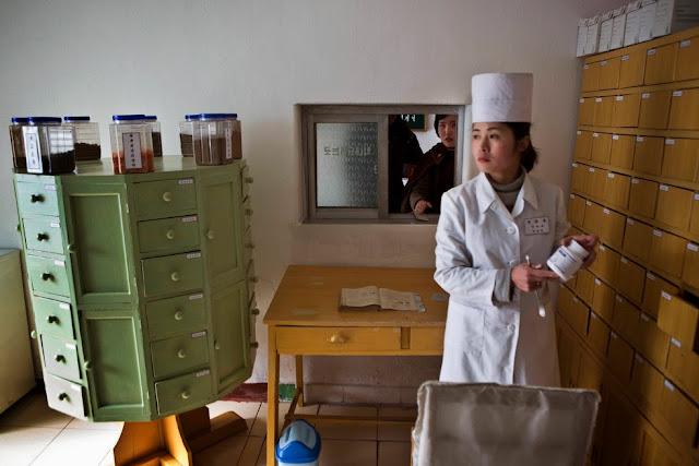 medicina tradicional en Corea del Norte