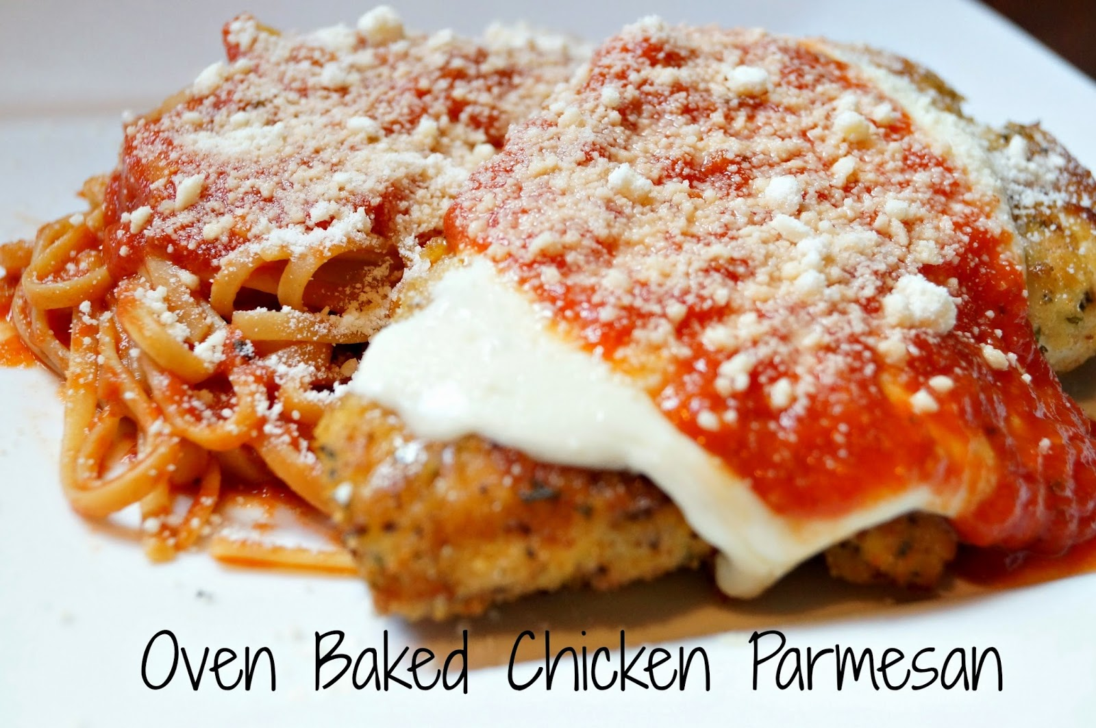 Baked Crisp Parmesan Romano Chicken Recipes — Dishmaps