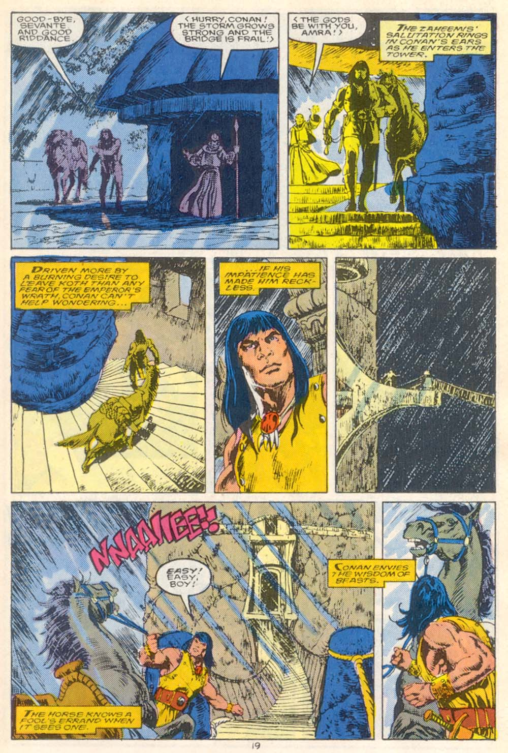 Conan the Barbarian (1970) Issue #210 #222 - English 16