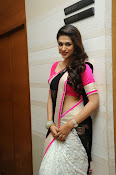 Shaddha das glamorous photos in saree-thumbnail-18