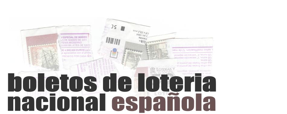 boletos de loteria