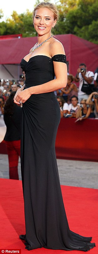 Celeb Diary: Scarlett Johansson @ 2013 Venice