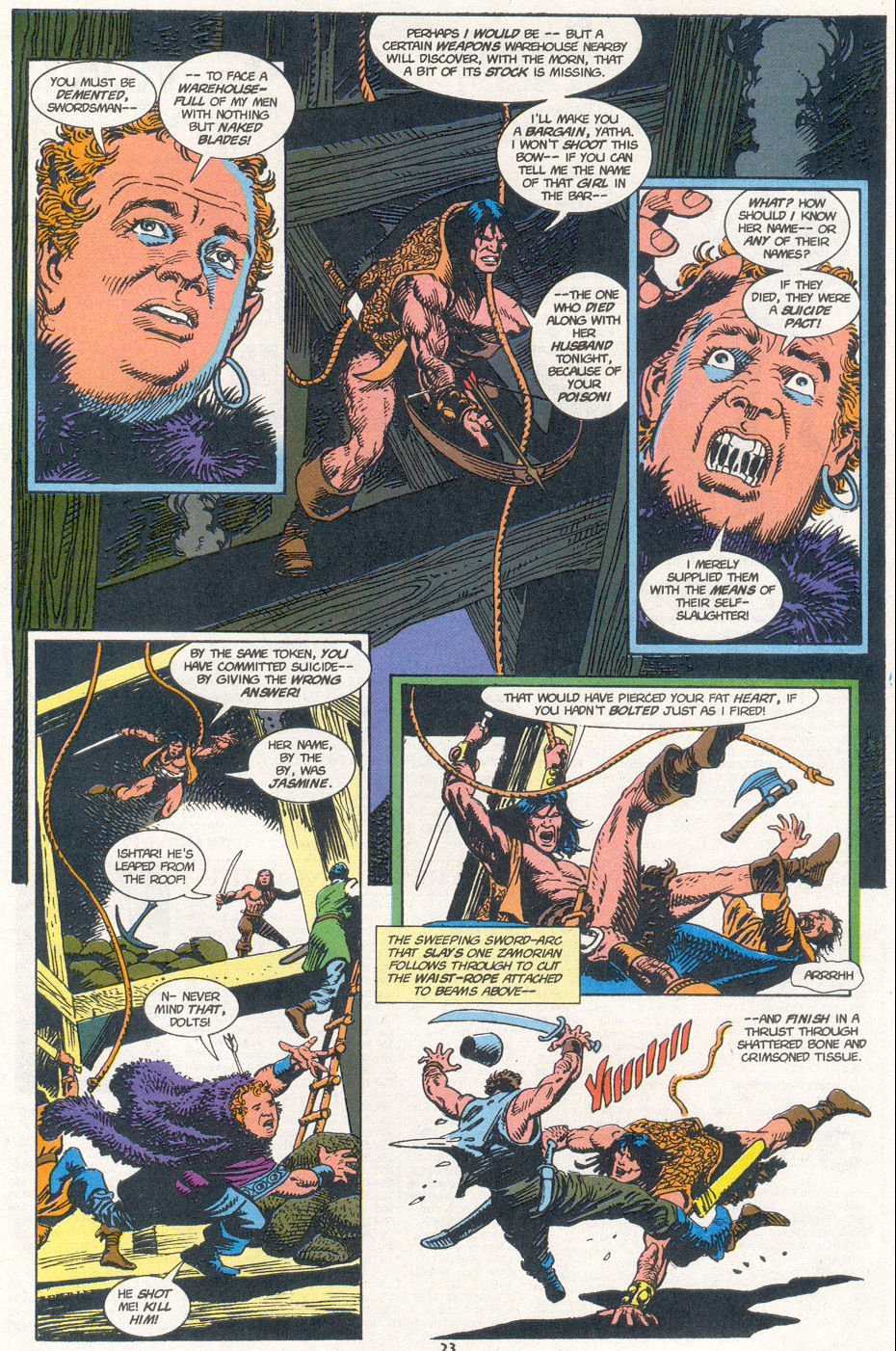 Conan the Barbarian (1970) Issue #273 #285 - English 18