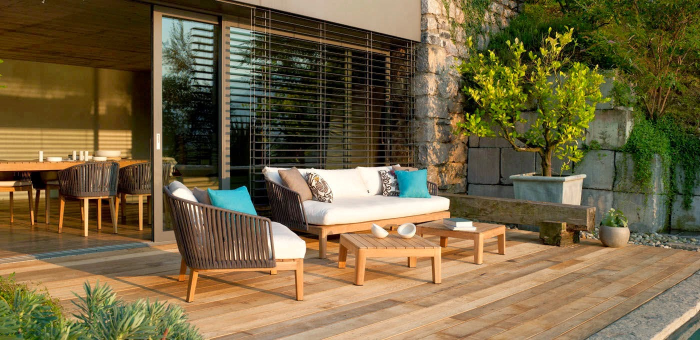 Consejos para decorar jardines en terrazas y balcones - Decoracion de exteriores jardines ...